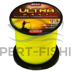 FIR ASSO ULTRA CAST GALBEN FLUO 0.20mm 1000m