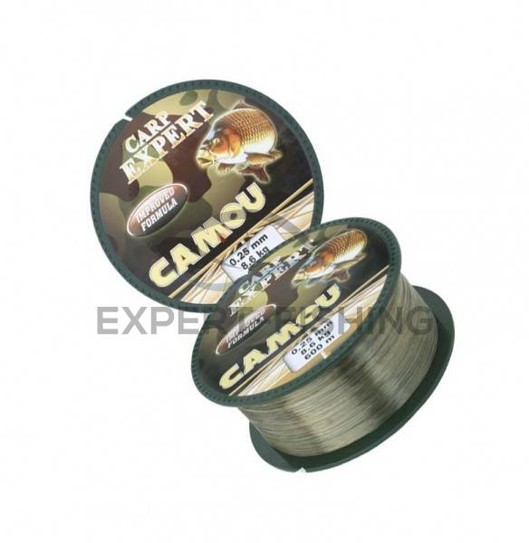 FIR CARP EXPERT CAMOU 600m 0.25mm