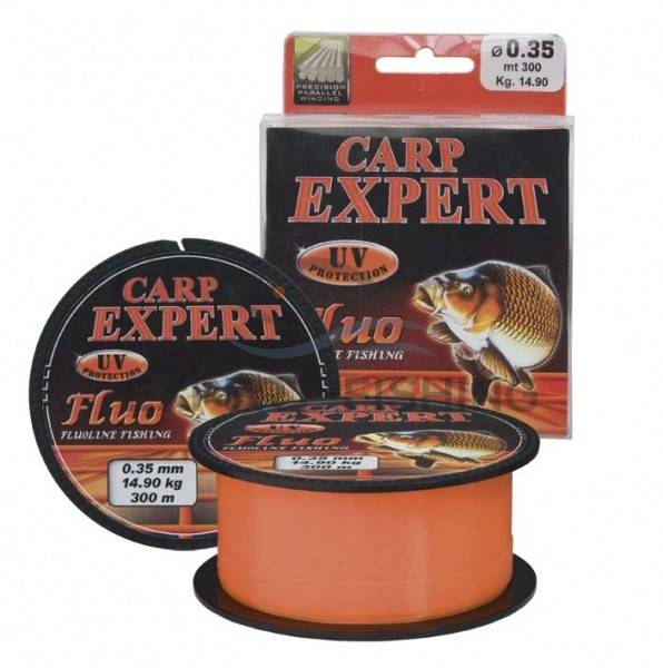 FIR CARP EXPERT UV FLUO ORANGE 0.20mm 300m