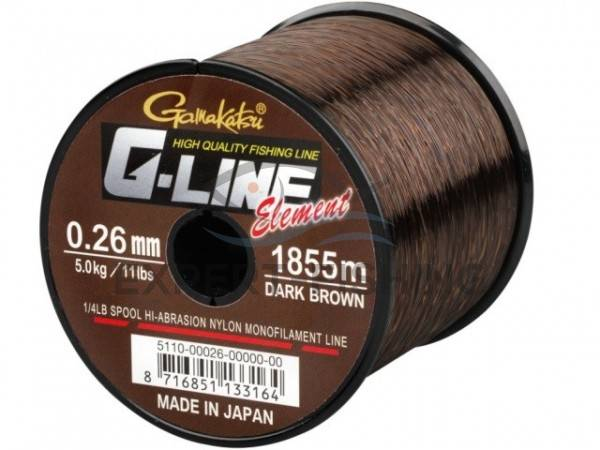 FIR G LINE ELEMENT DARK BROWN 0.24mm 2270m
