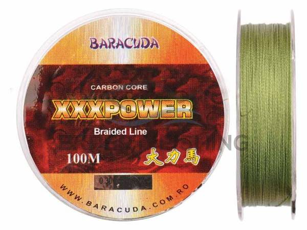 FIR TEXTIL BARACUDA XXX POWER 100m 0.25mm