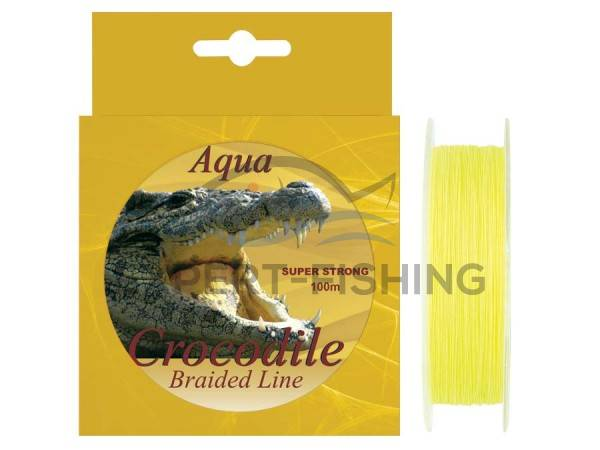 FIR AQUA CROCODILE BRAIDED LINE 0.14mm 100m